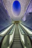 Subway naples — Stock Photo