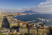 Залив Неаполя — Стоковое фото