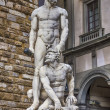 Statue of Hercules and Cacus — Stock Photo