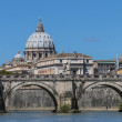 St. Peter's from the Tiber — Stock Photo #46459069