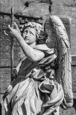 Angel with the lance — Stock Photo