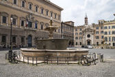 Farnese Square in Rome — Stock Photo