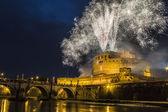 Pinwheel of Castel Sant'Angelo — Stock Photo