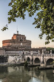 Glimpse of the Castel Sant'Angelo — Stock Photo