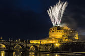 Pinwheel of Castel Sant'Angelo — Stock Photo