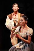 The Prague State Opera Teatre. Ballet ensemble presents Giselle, Prague, Czech Republic, April 6, 2011 — Stock Photo