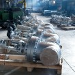 Stock Photo: Industrial valves ready for dispatch
