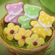 Easter traditional Gingerbread cookies — 图库照片