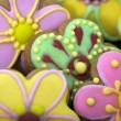 Easter traditional Gingerbread cookies — Stock Photo #21676801