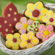 Easter traditional Gingerbread cookies — Stock Photo