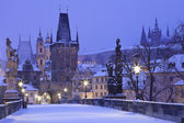 Czech Republic, Pague, Charles Bridge — Stock Photo