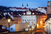 Czech Republic, Prague, Mala Strana during sunset — Stock Photo