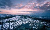 Paisaje de invierno en baviera, alemania — Foto de Stock