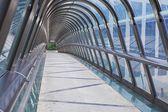 Kupka Bridge, La Defense, Paris, France — Foto Stock