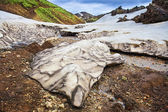 Landmannalaugar, rhyolite mountains of Iceland — Stock Photo