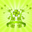 St. Patrick's Day background — Stock Vector #24238175