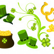St. Patrick's Day elements — Stock Vector #24238233