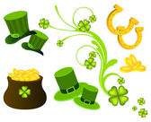 St. Patrick's Day elements — Stock Vector