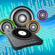 Royalty-Free Stock Vector Image: Dj background