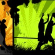 Street Basketball - Stock Vector
