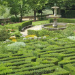 Stock Photo: Garden of one of Medici Villas