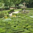 Garden of one of the Medici Villas — Stock Photo
