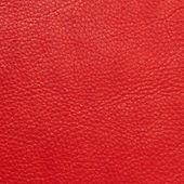 Kırmızı deri dokusu — Stok fotoğraf