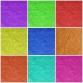 цвет бумаги искусства — Стоковое фото
