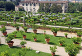 The magnificent Renaissance gardens — Stock Photo