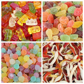 Gummy candies set — Stock Photo