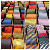Elegant tie collection — Stock Photo