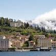 View of Bellagio village on lake Como - Foto Stock
