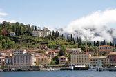 View of Bellagio village on lake Como — Stock Photo