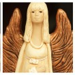 Composition with angelic figures — Stockfoto #12401851