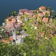 Varenna village on lake Como - Stock Photo