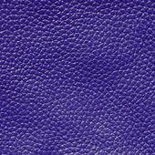 Dark blue leather texture background — Stock Photo