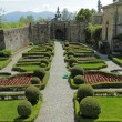 Elegant italian garden of Villa Torrigiani near Lucca — Stock Photo