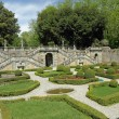 Classic garden of Villa Torrigiani near Lucca — Stock Photo