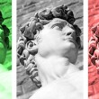 Italian collage — Foto Stock