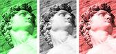 Italian collage — Stock Photo