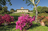 Garden and Villa La Petraia — Stock Photo