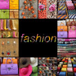 Foto Stock: Poster with fashion fancy accessories,