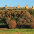 Fantastic Castle of Monteriggioni - Stock Photo