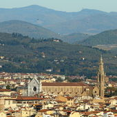 Hills of Florence — Stock Photo