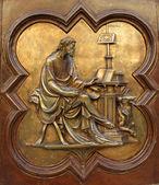 St Luke the Evangelist by Lorenzo Ghiberti — Stock Photo
