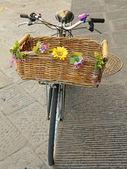 Vintage bike — Stock Photo