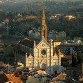 The Basilica di Santa Croce — Stock Photo