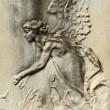 Angelic bas-relief — Stock Photo