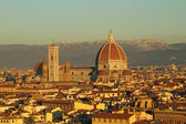 View of monumental cathedral of Florence — Stock Photo