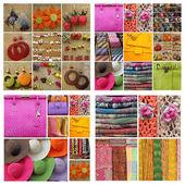 Accessories collage — Stock fotografie